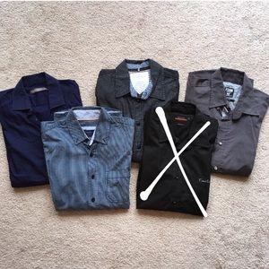 Bundle of 4 Men's shirts